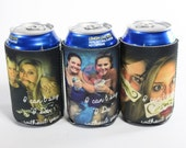 PHOTO GIFTS-Wedding Favors-Wedding Gifts- Beer Can Insulators- Great Gifts for the Wedding Party-Great Christmas Gifts