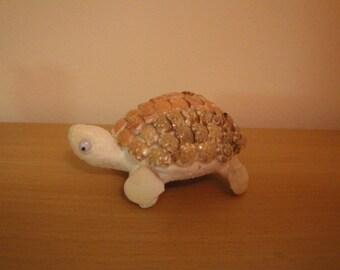Sea Shell Turtle Shell Figurine.
