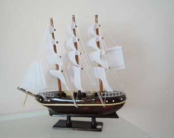 Sailing Ship Nautical Figurine.