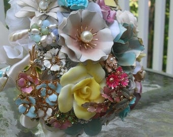 Large Enamel Bouquet Made to Order