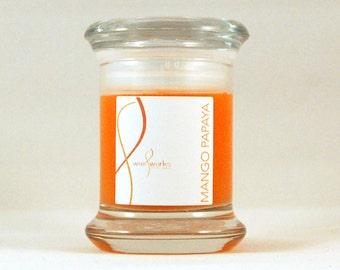 2 oz  Mango Papaya Soy Jar Candle