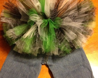 Blue Jean Tutu Great for Every day wear, birthdays, photos and much more