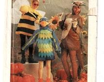 Simplicity 6671 Adult Honey Bee, Bird, Kangaroo w/ Baby In Pocket Halloween Costume Adult Sz Med, 36- 38 Uncut Pattern- 4