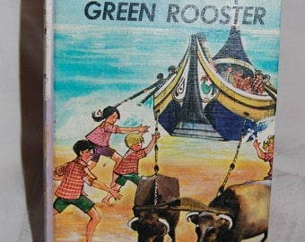 """The Bobbsey Twins' - Vintage - """"Search For The Green Rooster"""" by Laura Lee Hope 1965 Edition Vintage Epsteam"""