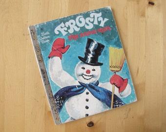 A Little Golden Book - Frosty the Snowman
