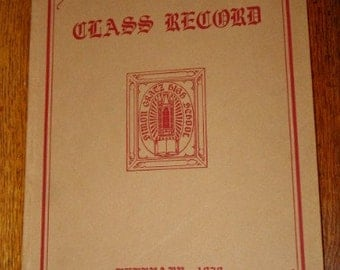 Vintage Yearbook Simon Gratz High School 1929 Philadelphia Pa Lots of Photographs