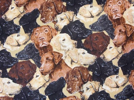 Labrador Retriever Fabric Hard To Find Timeless