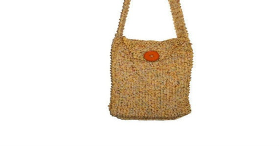 Knitting Pattern Messenger Bag : Messenger Bag Courier Bag PDF Knitting Pattern Crossbody Bag Shoulder Bag Kni...
