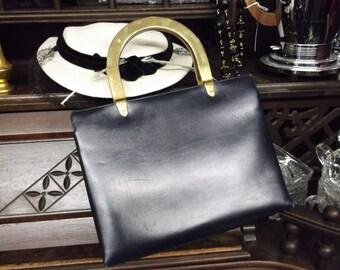 Koret Dark Blue And Red Purse Hand Bag