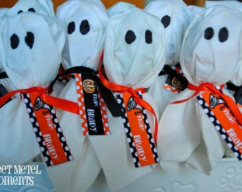 Halloween Personalized Printable Mini Labels by Sweet Metel Moments