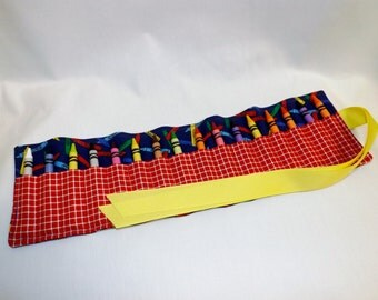 Crayon Roll Up