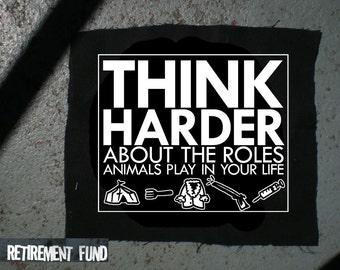 Think harder animal rights PATCH