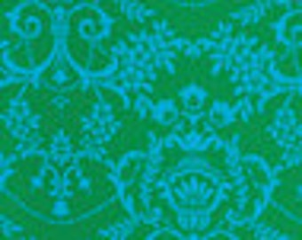 SALE -  Jennifer Paganelli - Crazy Love Natasha - 100% Cotton - Green