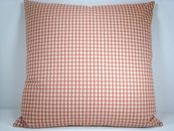 How To Make A Basket Weave Pillow : Coral beige woven basket weave check decorative accent toss