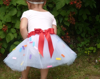 Baby Cupcake Tutu Kid Costume: Halloween costumes for infants, baby halloween outfit, Pretend play dress up, tutu, baby tutu, kids tutu