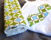 New Jersey Onesie and Burp Cloth Gift Set