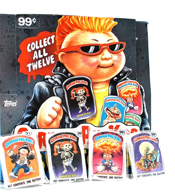Garbage Pail Kids Buttons Set of 12
