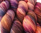 sw wool nylon sock yarn LIMBO fingering weight 3.5oz / 460 yards