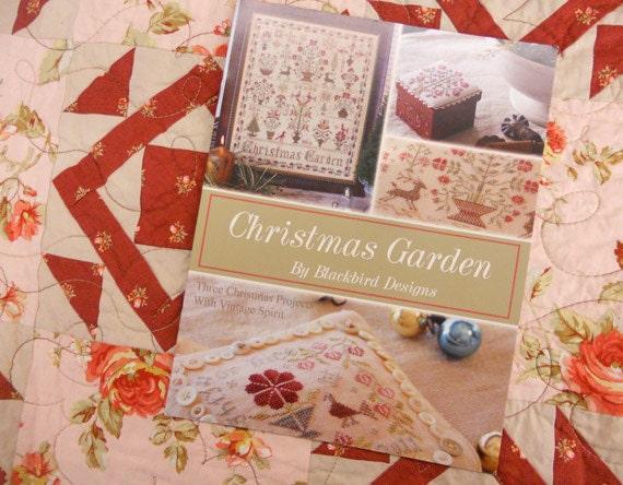 Items similar to christmas garden by blackbird designs on etsy for Christmas garden blackbird designs