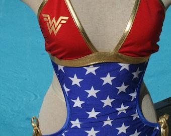 Wonder inspired monokini