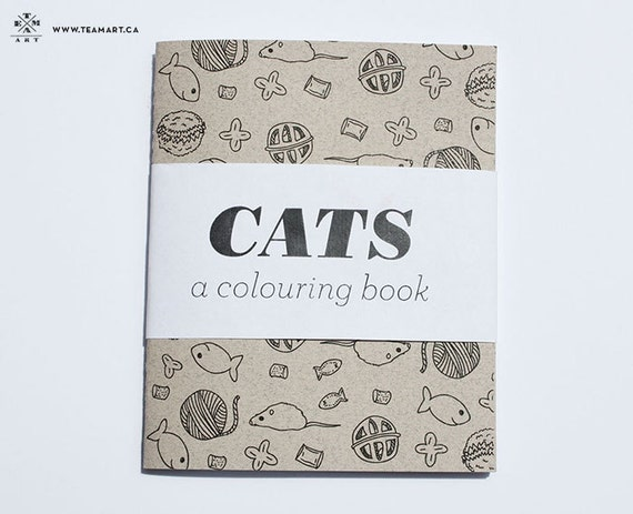 cats a coloring book