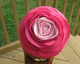 Rose Pillow in Shades of Pink
