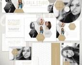 Photography Marketing Templates: Gala Studio - Marketing Set & Standard Business Forms Bundle