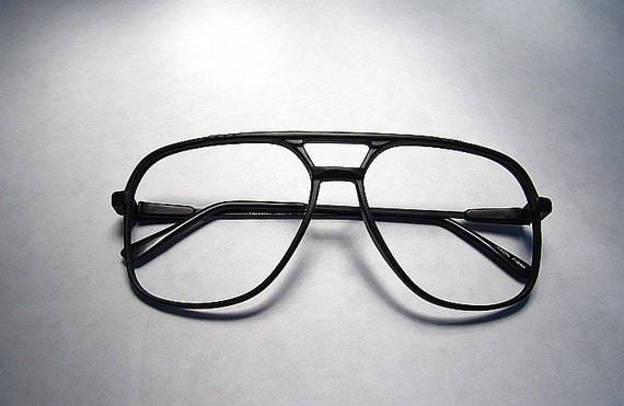 Frameless Glasses Pics : Items similar to 90s Black Frameless Glasses on Etsy