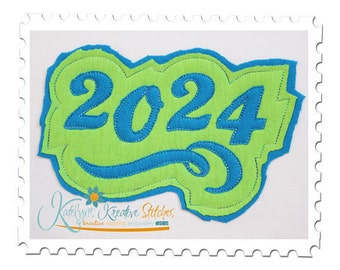 2024 Distressed Applique