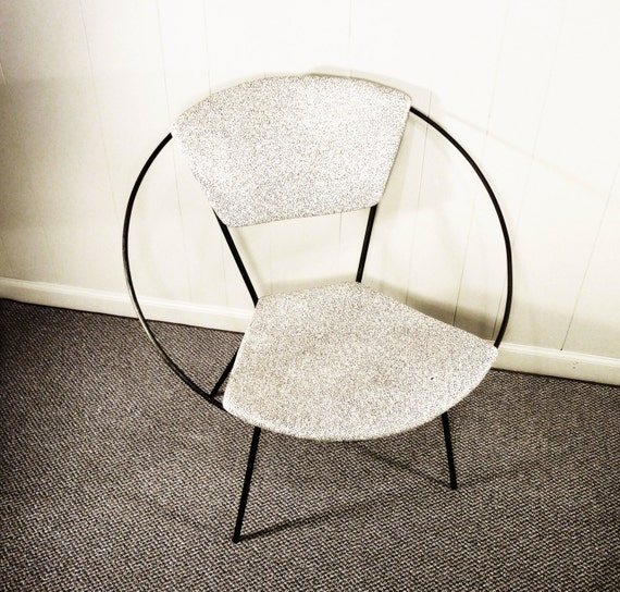 Hold Mid Century Cicchelli Hoop Circle Chair Reilly Wolf 50s