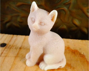Cat Soap: Meow Meow - Adorable Little Kitty Cat Soap, You Choose Color & Scent