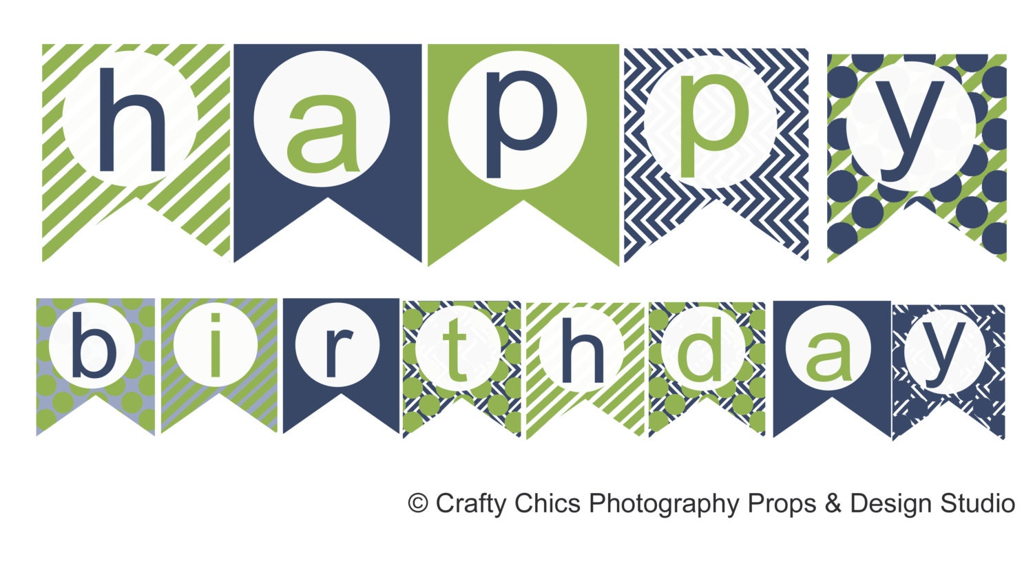 Epic image within happy birthday banner printable