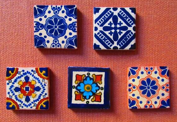 En venta mexicana azulejo talavera talavera azulejos 2 x 2 for Azulejo de talavera mexico