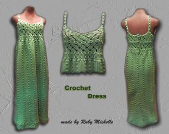 Emeral Crochet Dress pattern