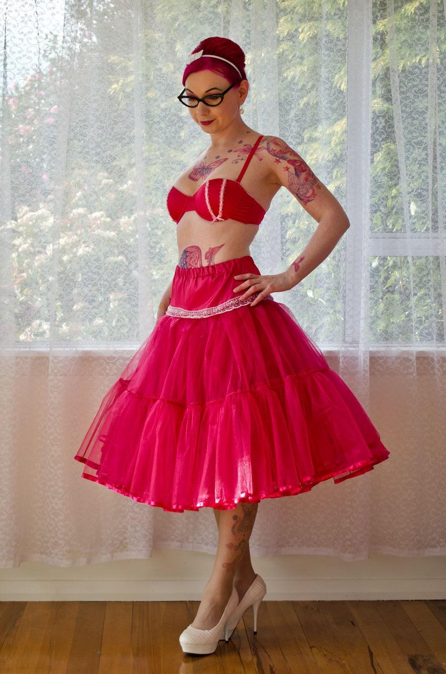 1950s Jacqueline Rockabilly Wedding Dress With