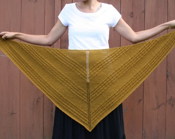 Shawl wrap knitting pattern