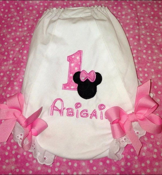 Items Similar To First Birthday Personalized Minnie Mouse