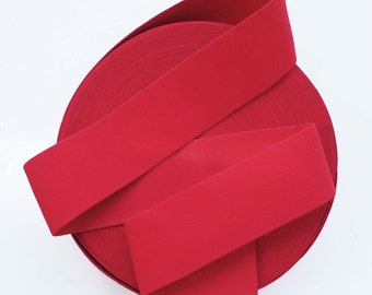 """3"""" Capsican Red Stretch Elastic Band"""