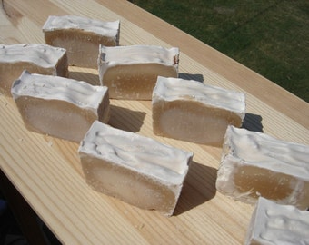 Warm Vanilla scented caffeine handmade soap carnivore friendly strong scent geekery tallow soap