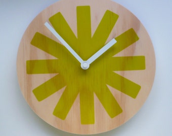 Objectify Asterisk Wall Clock