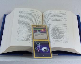 Pokemon Boomark - Pokemon - Pokemon Cards - Pokemon Trading Cards - Laminated Bookmark - Upcycled Bookmark