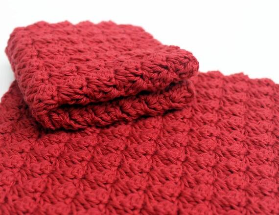 Crochet Washcloth Pattern Crochet Dischcloth Pattern