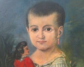 RESERVED SILVYA Original oil painting russian portrait