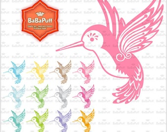 Instant Downloads, Baby Hummingbird Clip Art for Baby Shower, Wedding Invitation Cards Making, Personal and Small Commercial Use. BP 0785