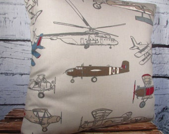 Vintage Air pillow  cover  - pillow insert sold separately