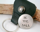 Golf Ball Marker and case - Father's Day Gift - Ball Marker - Golfer Gift