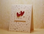 Happy Anniversary Card, Romantic Card, Wedding Card, Husband Anniversary, Wife Anniversary, Boyfriend Anniversary, Special Occasion, Hearts