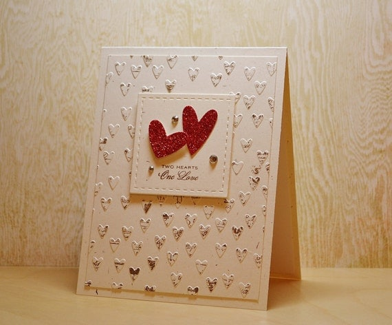 Items similar to Happy Anniversary Card, Romantic Card ...