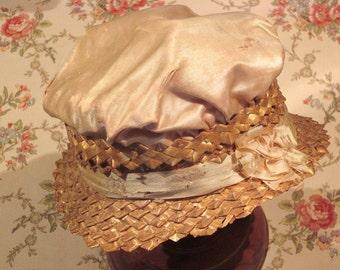 Antique Victorian Doll Hat