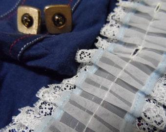 Ruffle, 1970s, pale blue, Adam Sandler, Diso shirt ruffle.